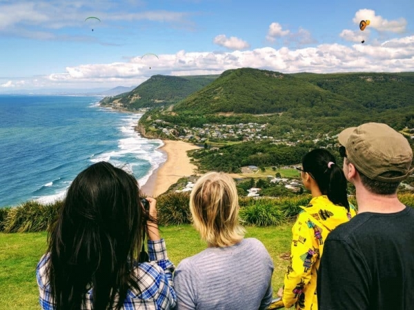 Bald Hill Lookout, Grand Pacific Drive - Wildlife, Waterfalls & Wine day tour from Sydney