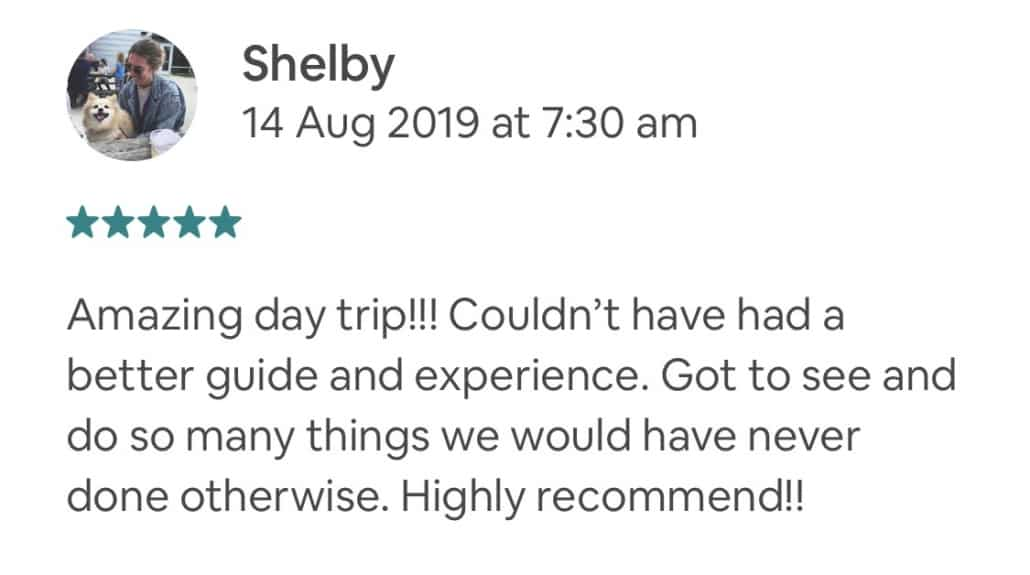 Wildlife-Waterfalls-Wine-review-Shelby-14-Aug-2019.jpg-Amazing day trip!!! Couldn't have had a better guide and experience. Got to see and do so many things we would have never done otherwise. Highly recommend!!
