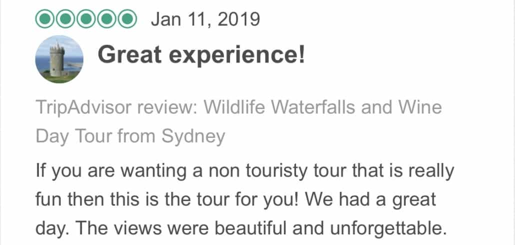 If you are wanting a non touristy tour that is really fun then this is the tour for you! We had a great day. The views were beautiful and unforgettable.